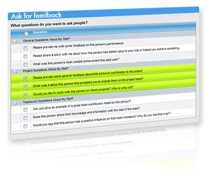 Crowdsourcing screenshot for enterprise social