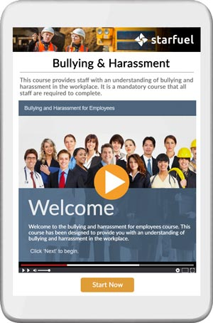 Bullying and Harrassment course
